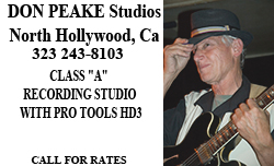 Don Peake Recording Studio